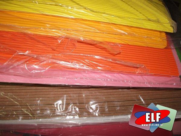 Karton falisty kolorowy