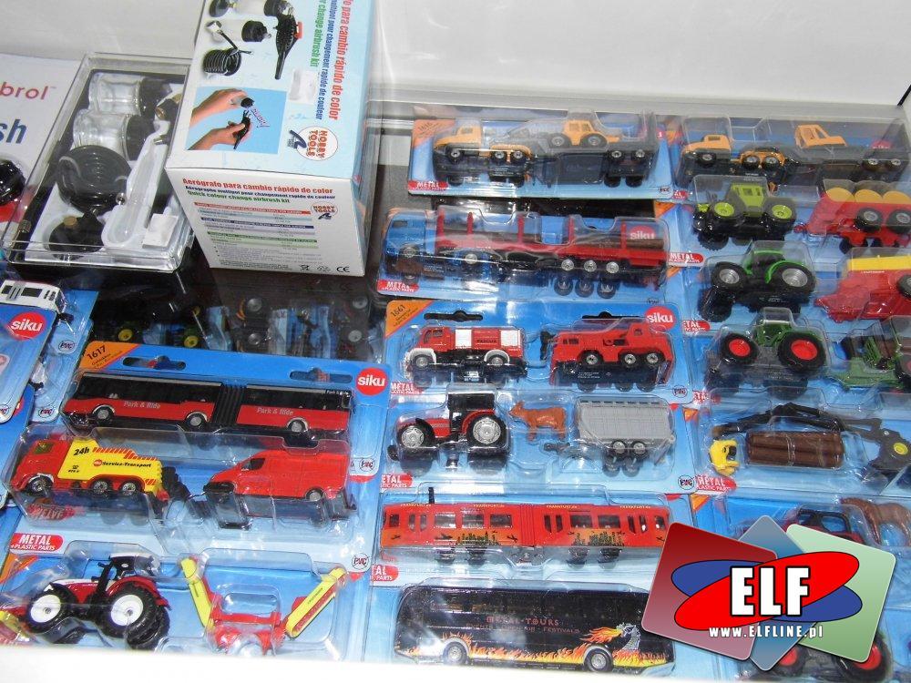 Samochody zabawki, Traktory zabawki i inne pojazdy