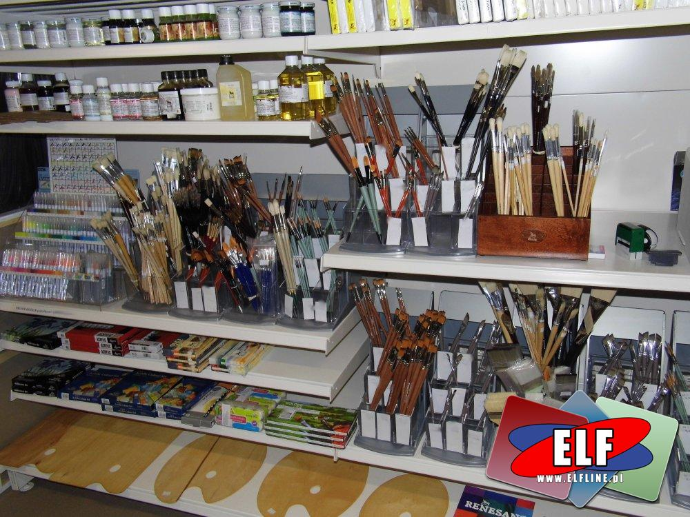 Podobrazia, Podobrazie, Pędzle, Pastele, Pędzel i inne akcesoria artystyczne