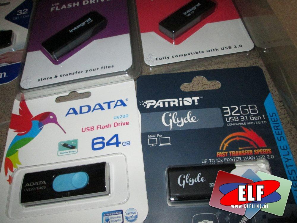 Pendrive, Pamięci USB, Flash, 32GB i 64GB