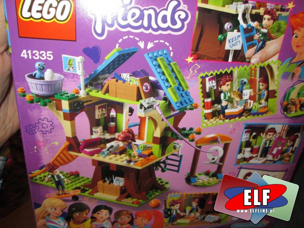 Lego Friends 41335 Domek Na Drzewie Mii Klo W Sklepie Elf