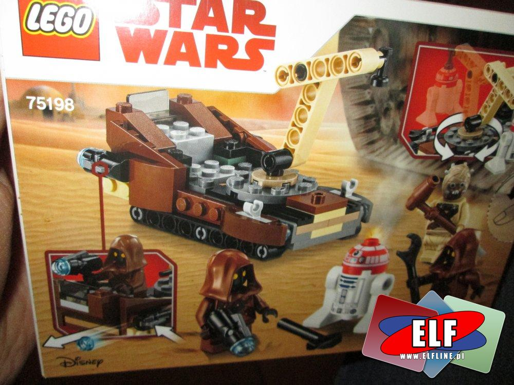 Lego StarWars, Star Wars, 75198 Tatooine Battle Pack, klocki