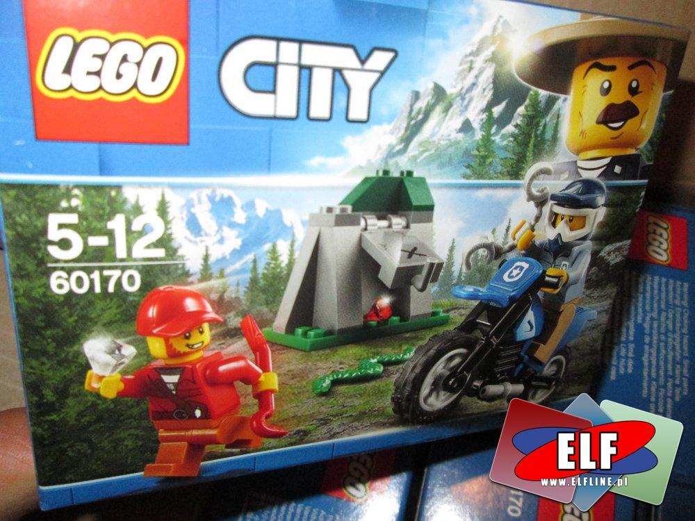 Lego City, 60170 Pościg za terenówką, klocki