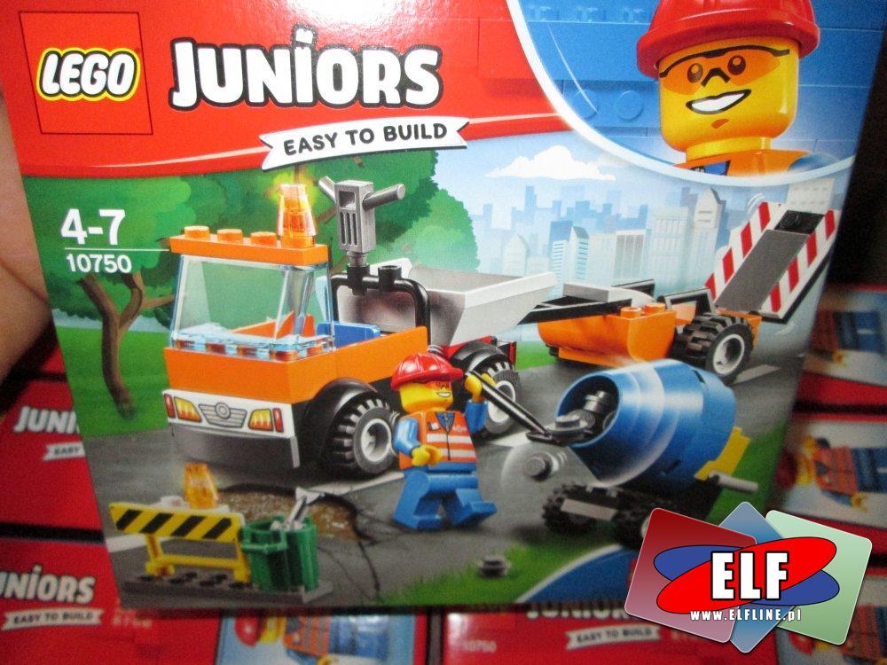 Lego Juniors, 10750 Samochód Robót Drogowych, klocki