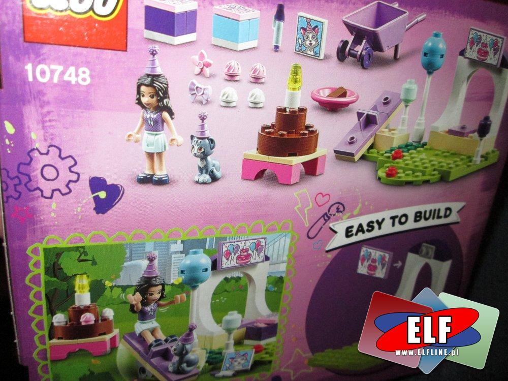 Lego Juniors, 10748 Przyjęcie dla zwierzaków Emmy, klocki
