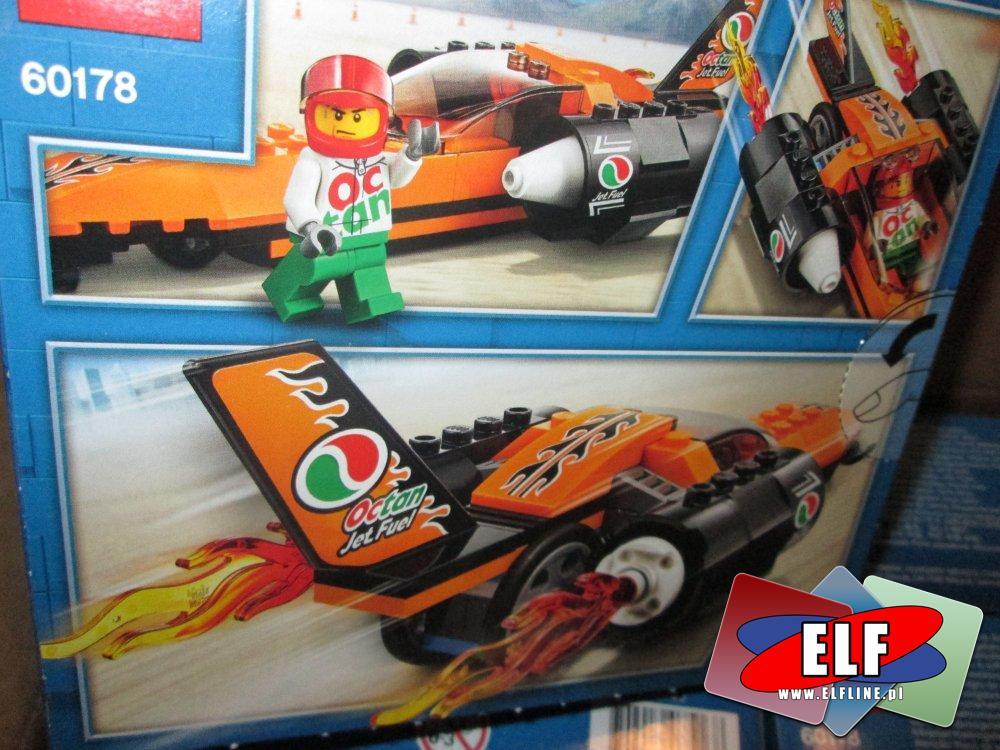 Lego City, 60178 Wyścigowy samochód, klocki