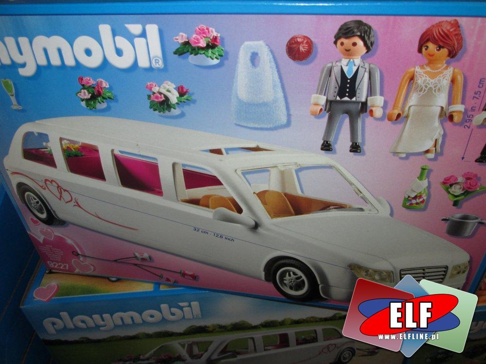 Playmobil, 9227 Limuzyna ślubna, zabawki, klocki