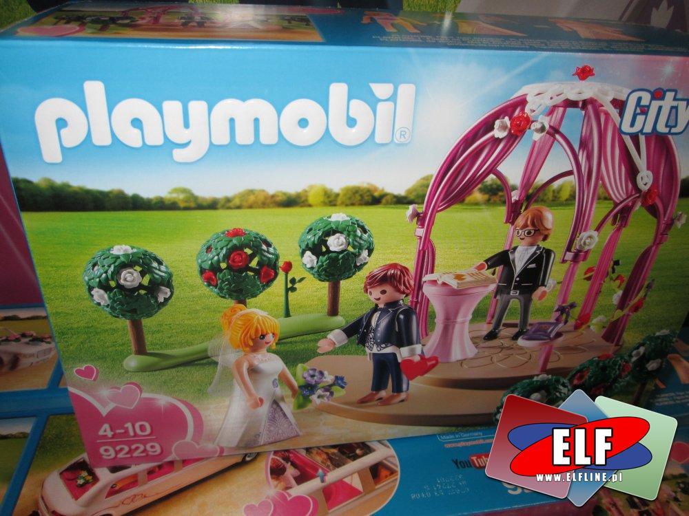 Playmobil, 9229 Pawilon ślubny z nowożeńcami, zabawki, klocki