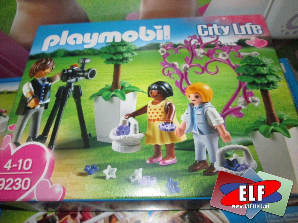 Playmobil, 9230 Fotograf i dzieci z kwiatkami, zabawki, klocki