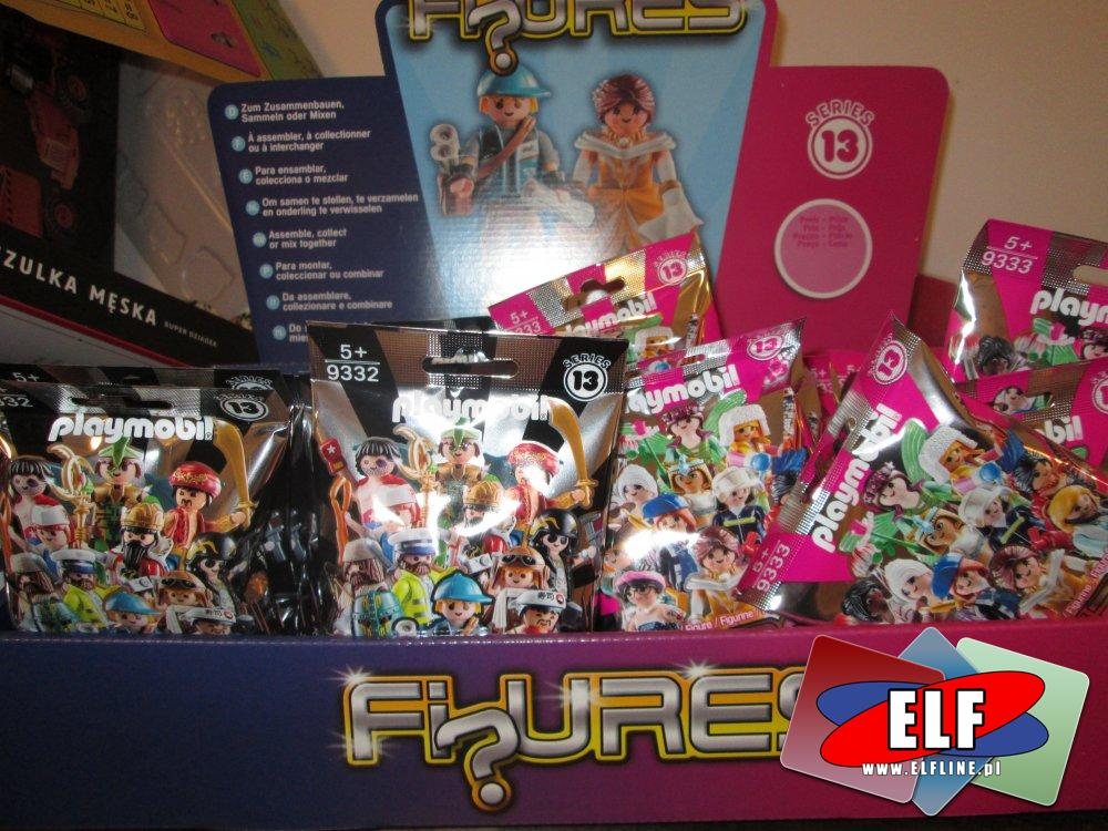 Playmobil, 9332 Figurki seria 13, 9333 Figurki seria 13, zabawki, klocki