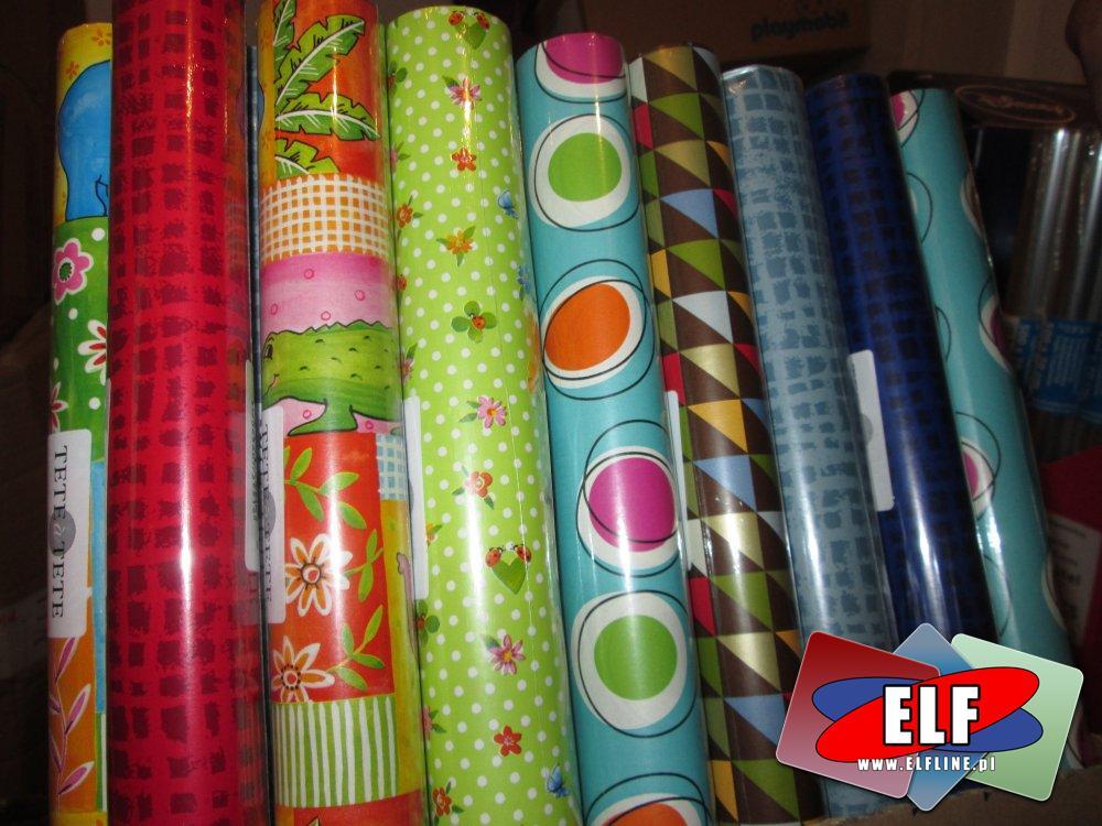 Papiery ozdobne do pakowania prezentów, papier ozdobny, prezentowy