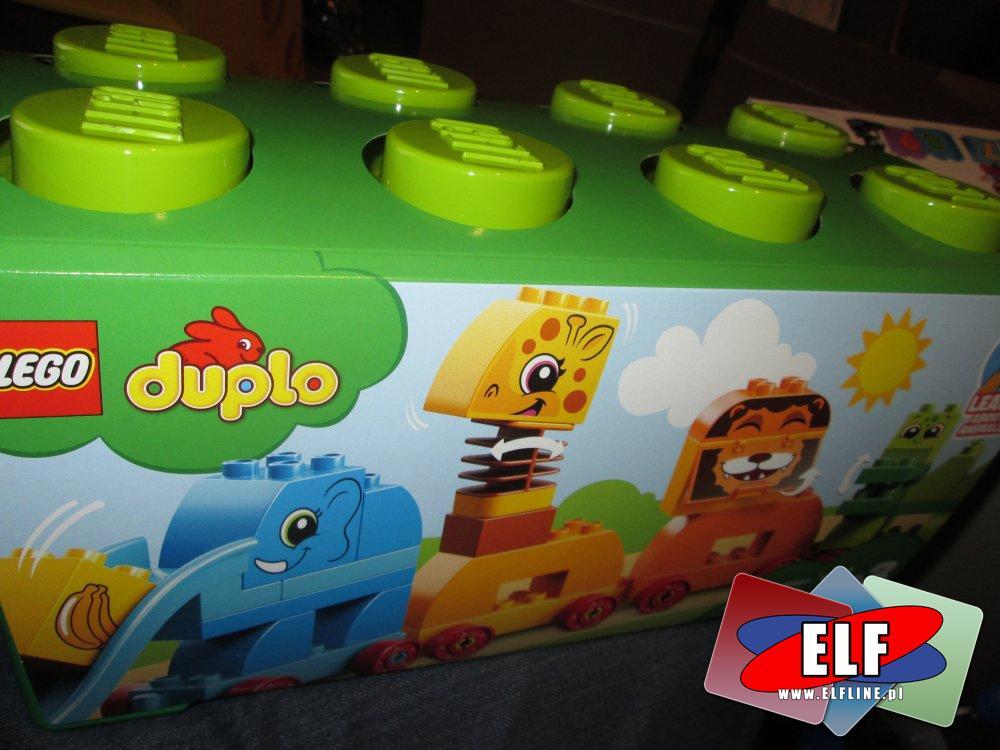 Lego Duplo, 10863 Pociąg ze zwierzątkami, klocki