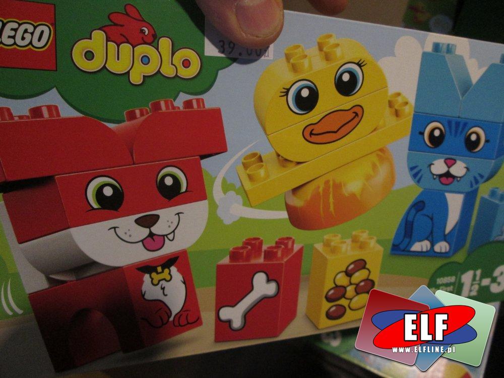 Lego Duplo, 10858 Moje pierwsze zwierzątka, klocki