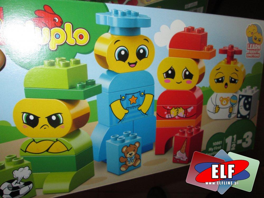 Lego Duplo, 10861 Moje pierwsze emocje, klocki