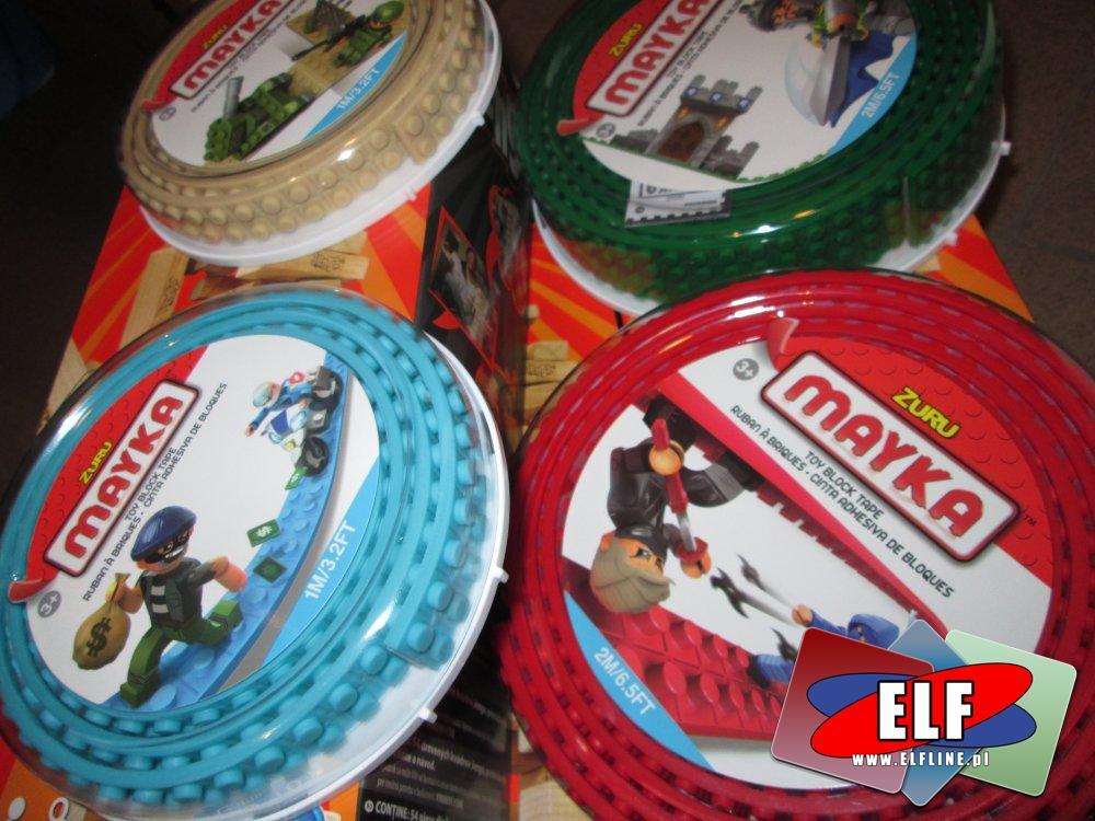 Lego Zuru Mayka, Taśma, Taśmy