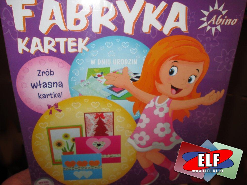 Fabryka Kartek, Zrób własną kartkę, zabawka kreatywna, zabawki kreatywne zestawy, zestaw