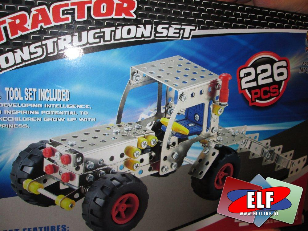 Mały Mechanik, Metal Models, Zestawy kreatywne konstrukcyjne, Zestaw konstrukcyjny, kreatywny, Autobus, Samochód, Koparka, Traktor, Okręt i inn...
