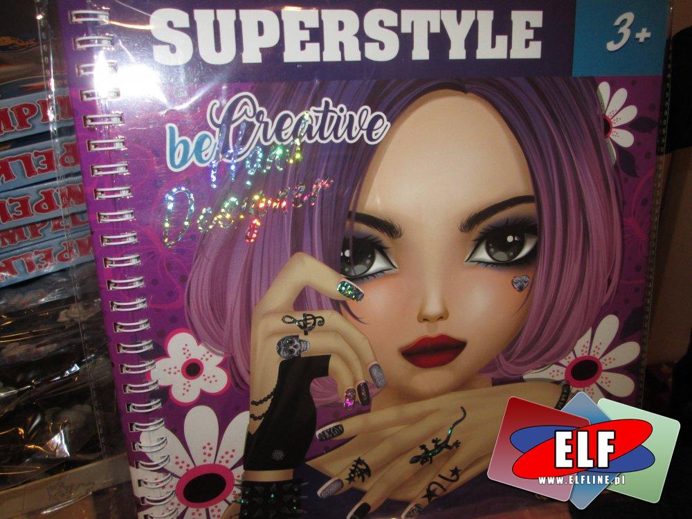 Top Model, SuperStyle, zestawy do projektowania, kreatywne, zestaw kreatywny