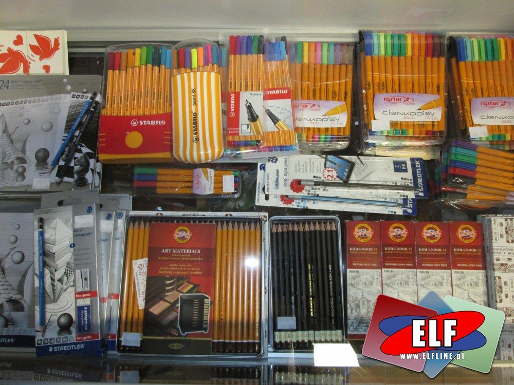 Cienkopis, Cienkopisy, Ołówek, Ołówki, Węgiel rysunkowy, Węgle rysunkowe