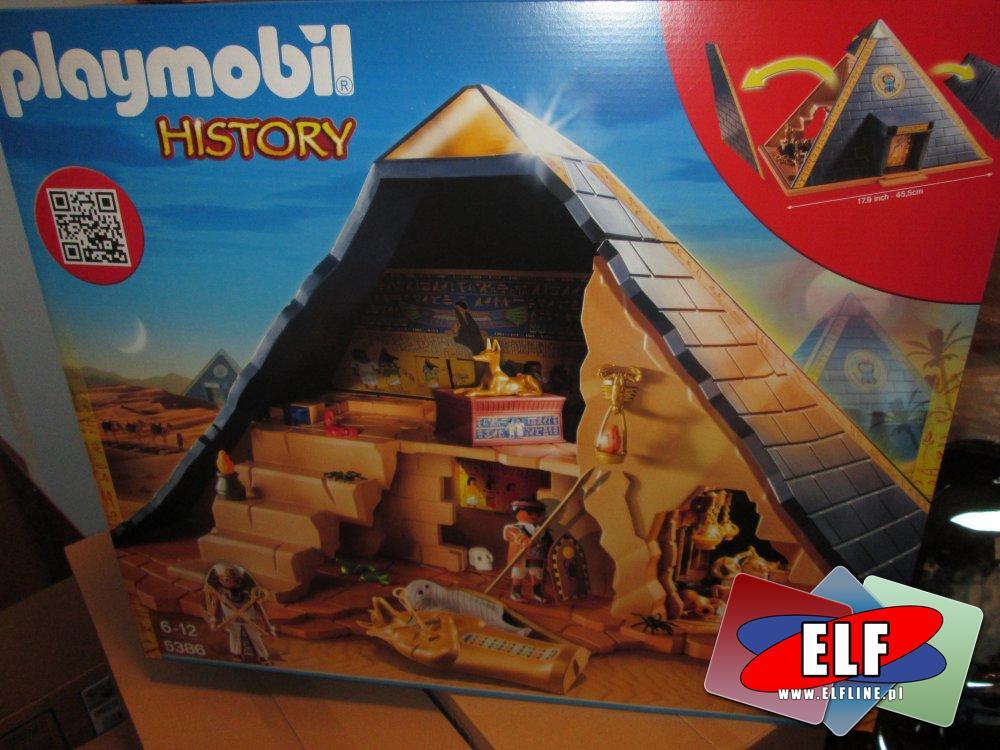 Playmobil History, 5386 Piramida Faraona, klocki