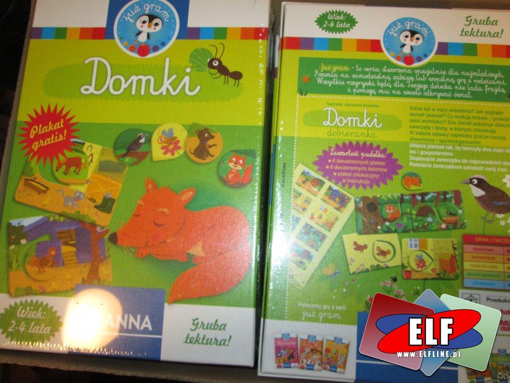 Gra, Zabawka edukacyjna, Domki, Gry, Zabawki edukacyjne