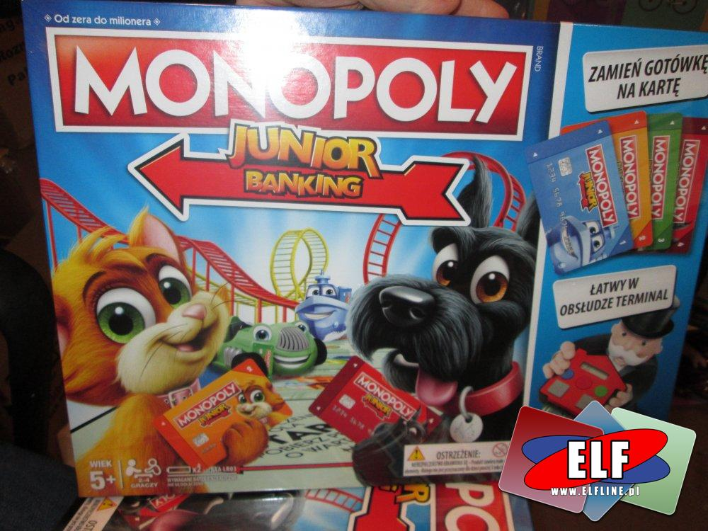 Gra Monopoly Junior Banking, Gry