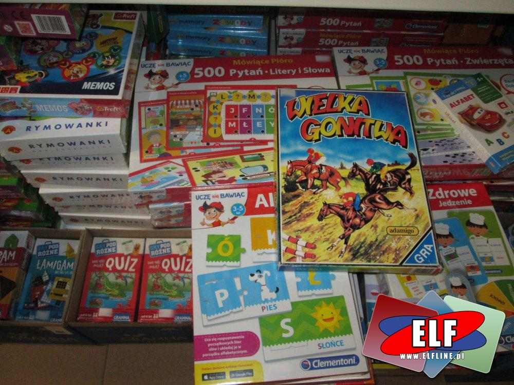 Gry Edukacyjne i inne, planszowe, Gra planszowa edukacyjna, i inne gry planszowe