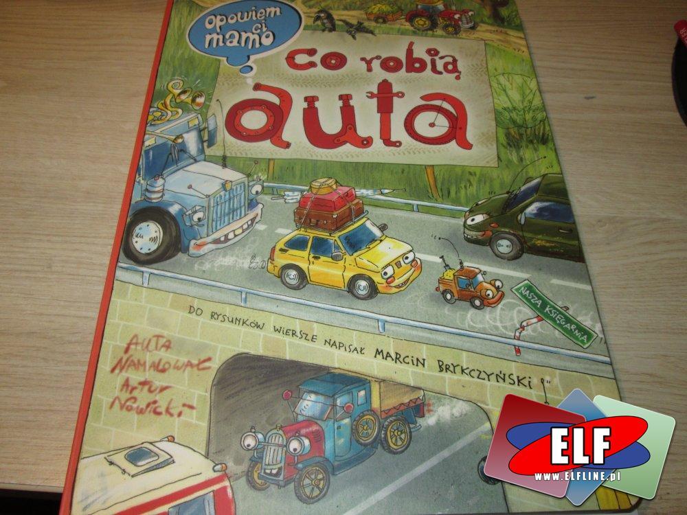 Książka Co Robią Auta, Książki