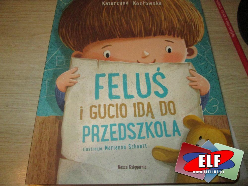 Feluś i Gucio idą do Przedszkola, Książka, Książki