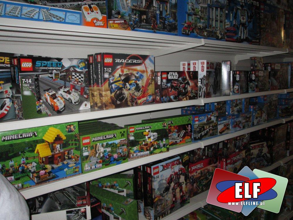 Klocki Lego, Minecraft, City, Technic, Friends, i Inne