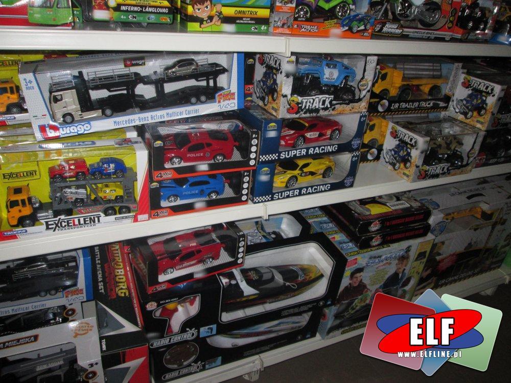 Burago i inne Samochody zabawki