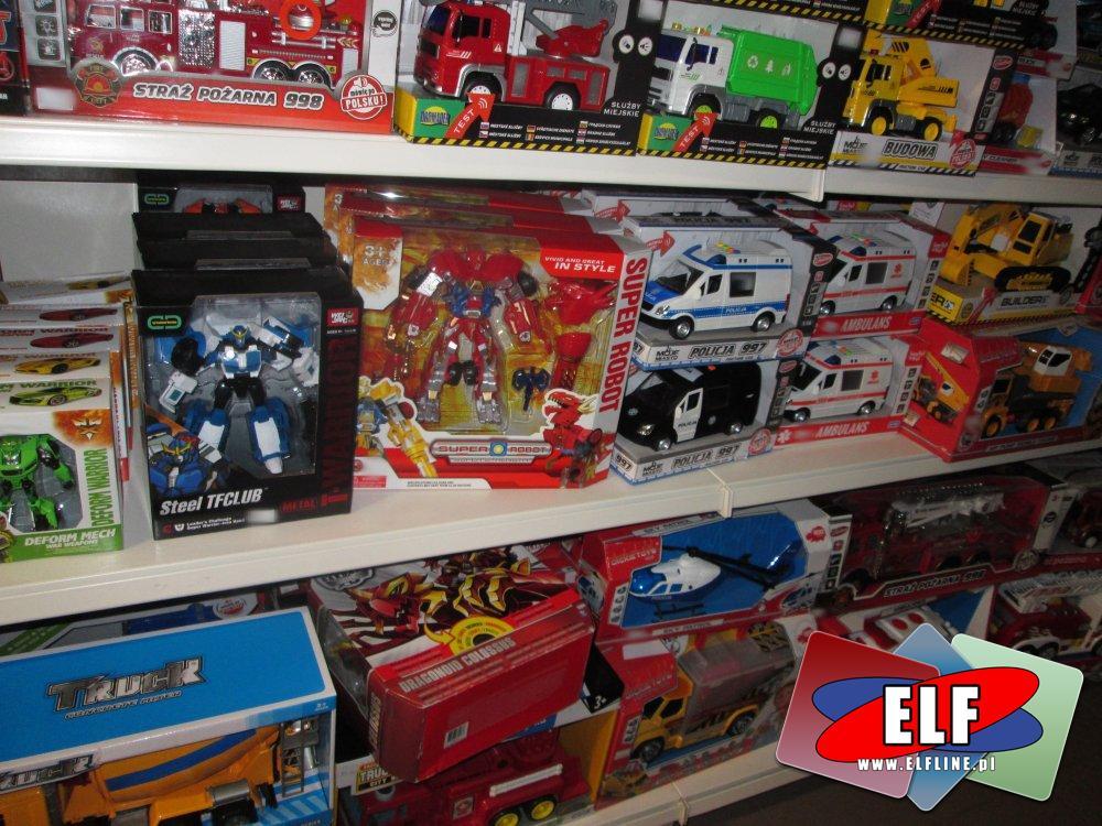 Roboty, Robot i inne zabawki