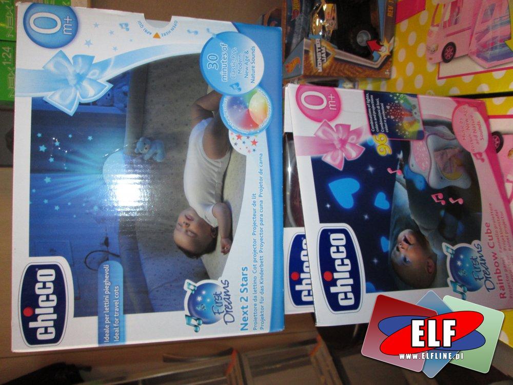 Projektory nad łóżeczko, kołyskę dla dziecka, dzieci, malucha, maluszka