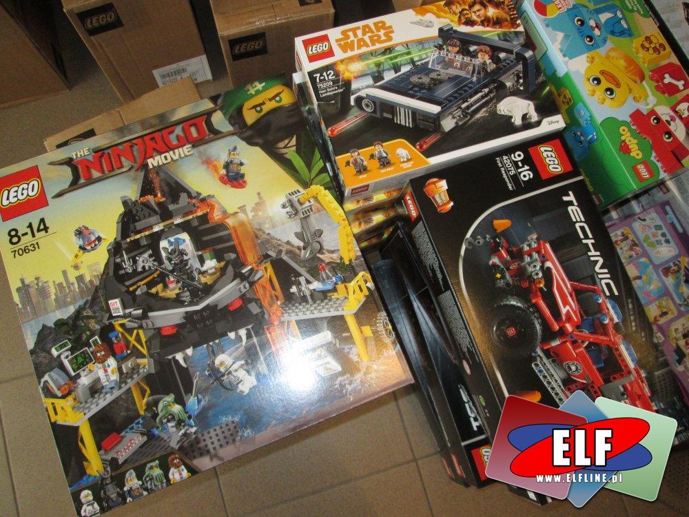 Lego Ninjago, 70631, StarWars 75209, Technic 42075, klocki