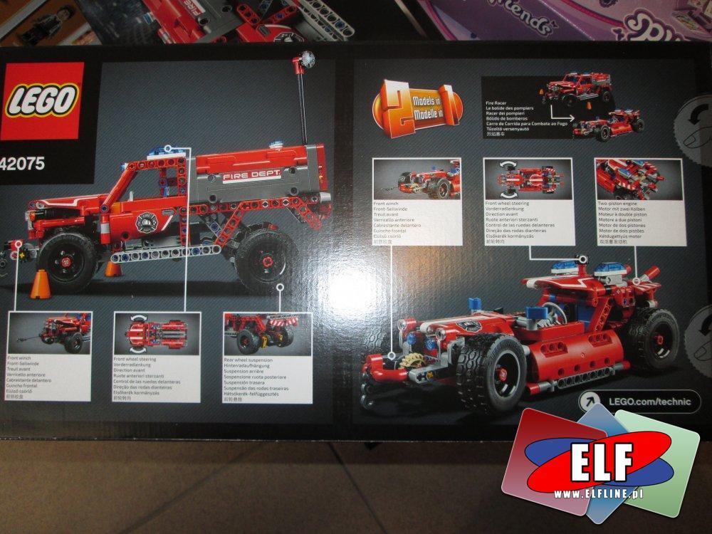 Lego Technic, 42075 Pojazd szybkiego reagowania, klocki