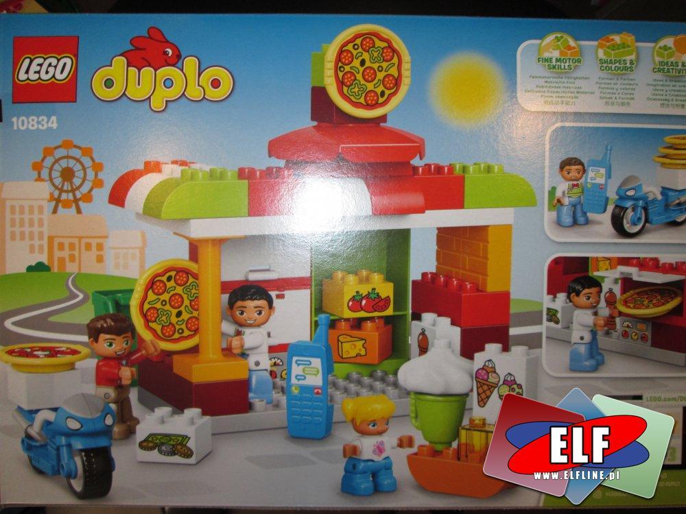 Lego Duplo, 10834 Pizzeria, klocki