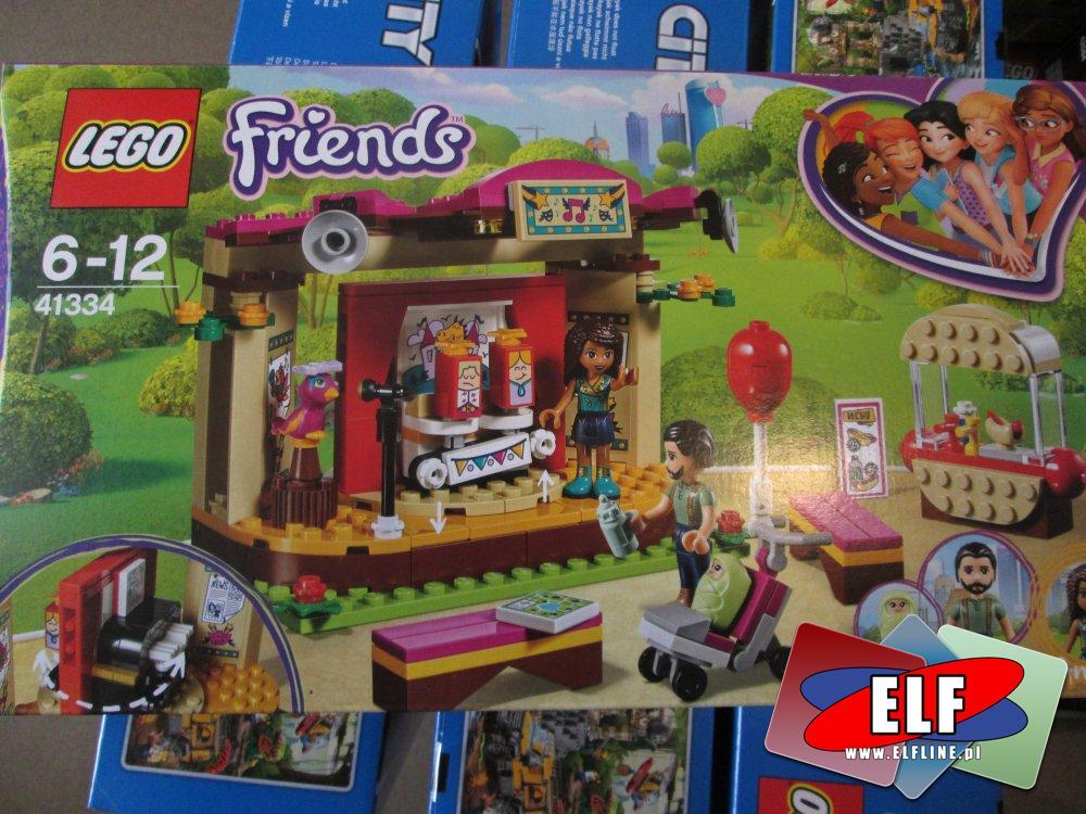 Lego Friends, 41334 Pokaz Andrei w parku, klocki