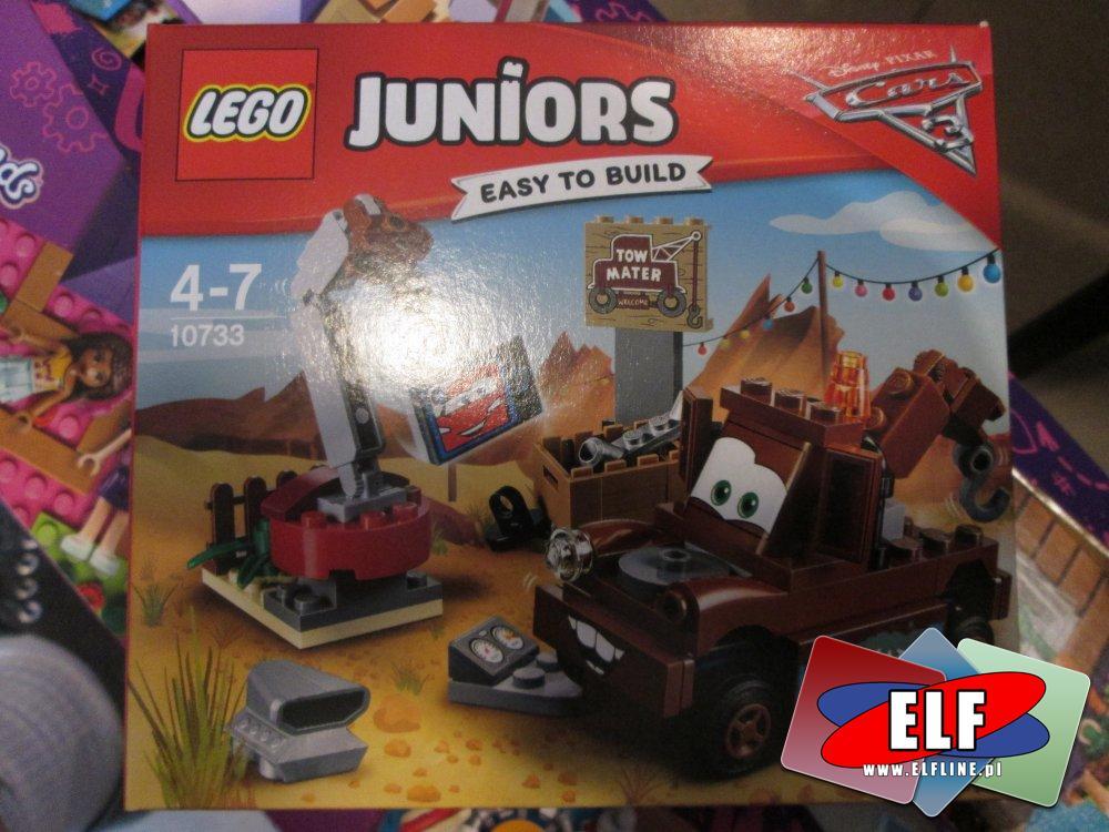 Lego Juniors, 10733 Składowisko u Złomka, klocki