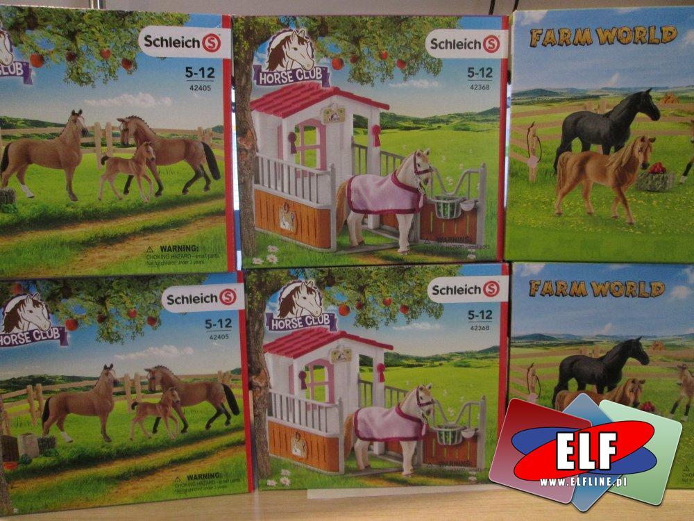 Schleich, Konie, Koń, 42405, 42368 i inne, figurka, figurki