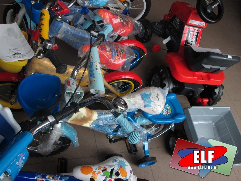 Rowerki, Motorki na akumulator, Rowerek