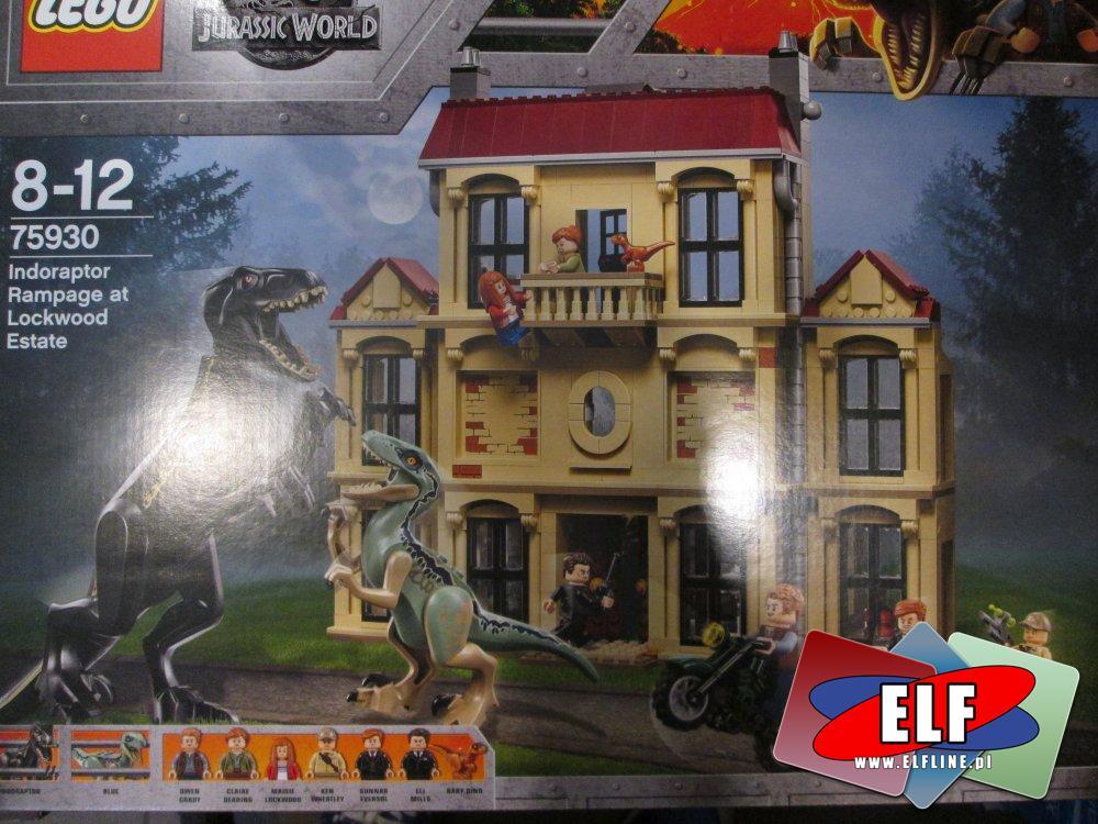 Lego Jurassic World, 75930 Atak Indoraptora, klocki