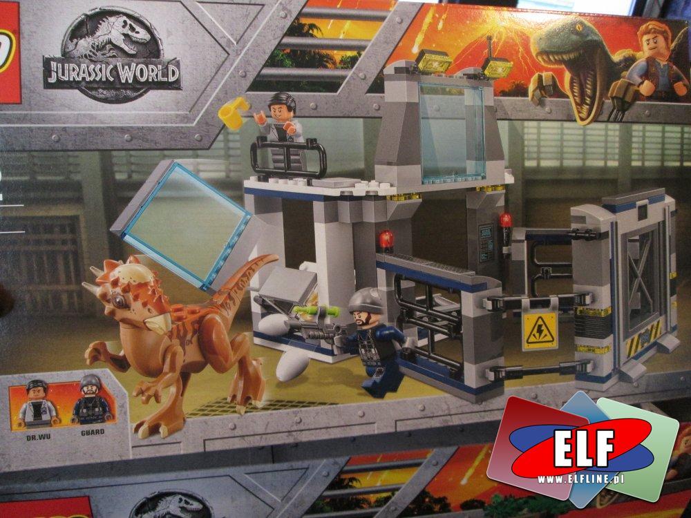 Lego Jurassic World, 75929 Ucieczka przed Karnotaurem, klocki
