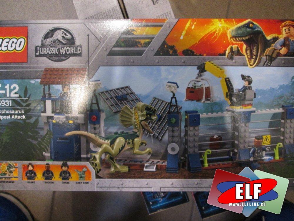 Lego Jurassic World 75931 Atak Dilofozaura N W Sklepie Elf