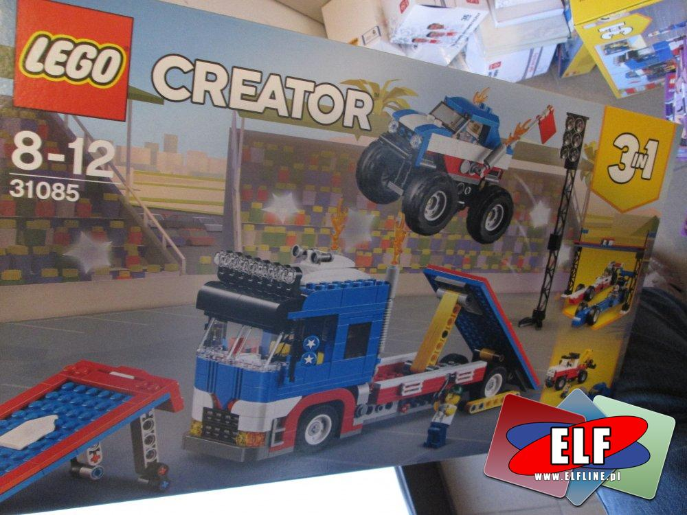 Lego Creator, 31085 Pokaz kaskaderski, klocki