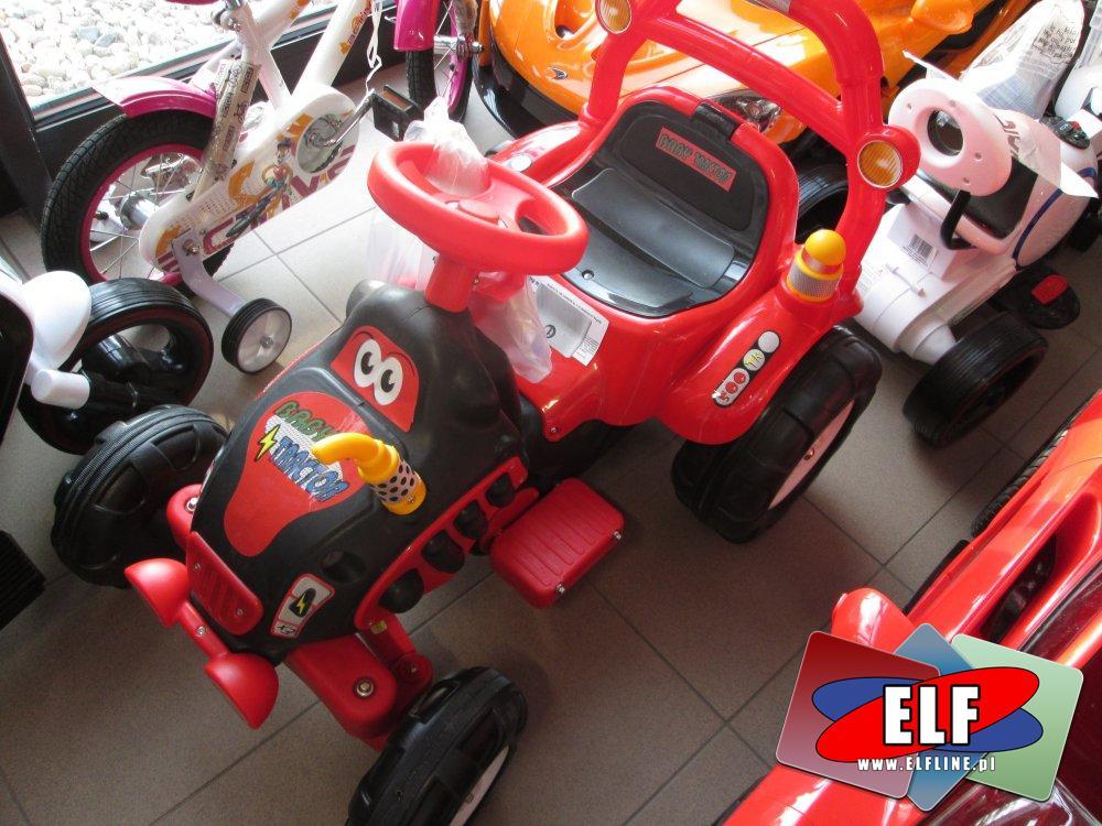 Samochody i Motory na akumulator, samochód na akumulator duży, motory duże na akumulatory, traktor na akumulator, traktory duże