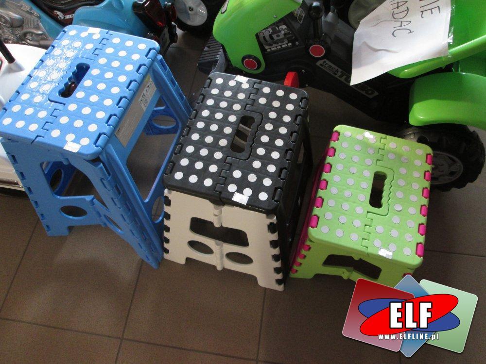 Taborecik plastikowy składany, składane plastikowe taboreciki, krzesełko, krzesełka, krzesło, taboret