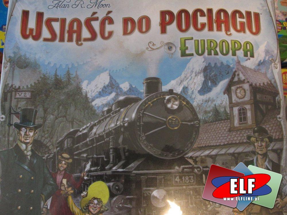 Gra Wsiąść do Pociągu, Europa, Gry