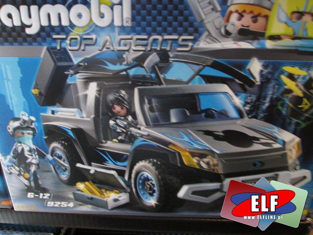 Playmobil Top Agents, 9254 Pick-up Dr. Drone a, 9251 Robot Agenta T.E.C., 9253 Mega dron, 9252 Agent P. i racer, 9250 Centrum dowodzenia Dr. Drone a, ...