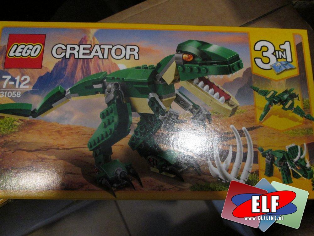 Lego Creator, 31058 Potężne dinozaury, klocki