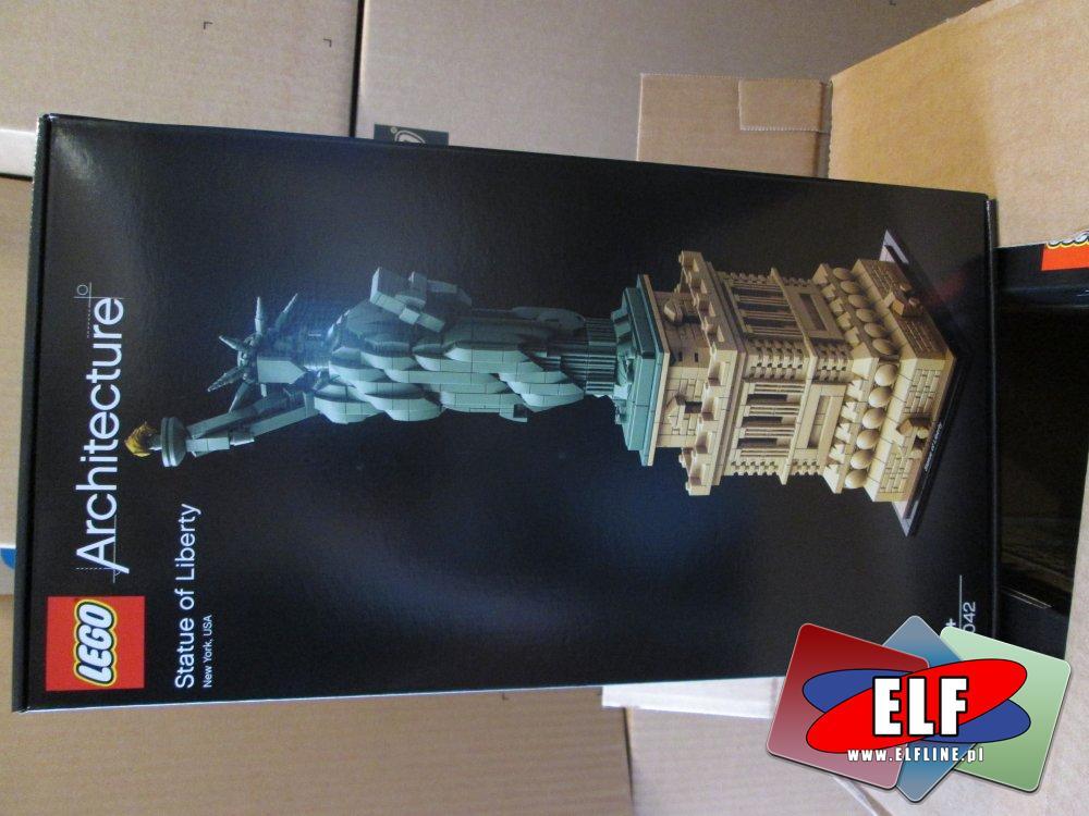 Lego Architecture, 21042 Statua Wolności, klocki